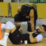قائد الفراعنة هيثم كمال يصاب بإلتواء شديد في الكاحل خلال المباراة الودية اليوم