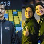 أبو علو وسارة جمال وآية خالد يمثلون مصر تحكيميًا في كأس العالم 2021 وأولمبياد طوكيو