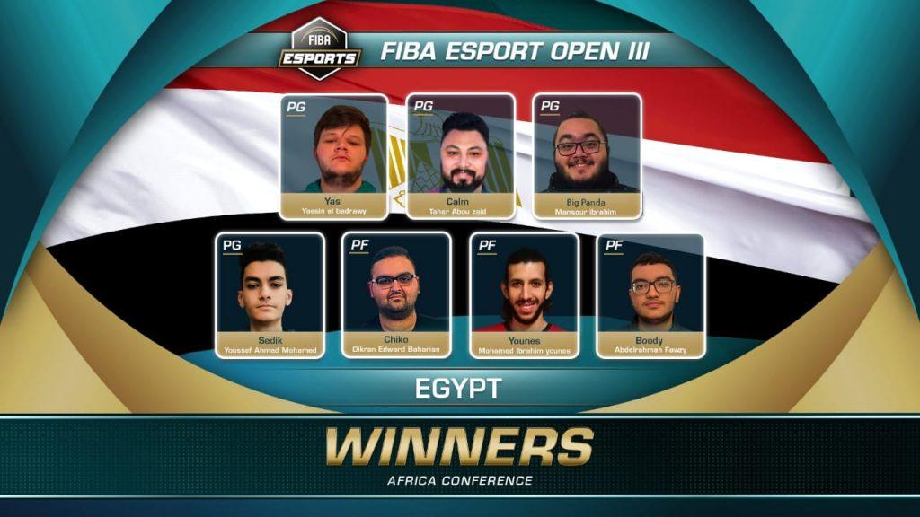 فريق الاتحاد المصري لكرة السلة يتوج ببطولة إفريقيا للألعاب الإلكترونية في مشاركته الأولى