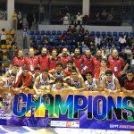 منتخب مصر ينتزع كأس أفريقيا لكرة السلة ناشئين من مالي